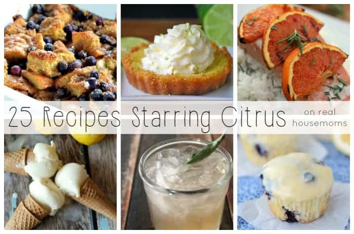 25 Recipes Starring Citrus on Real Housemoms