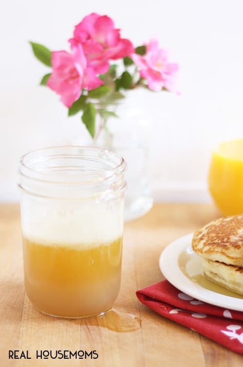 Buttermilk Syrup   Real Housemoms