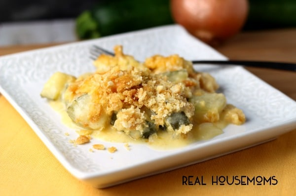 Cheesy Zucchini Gratin | Real Housemoms