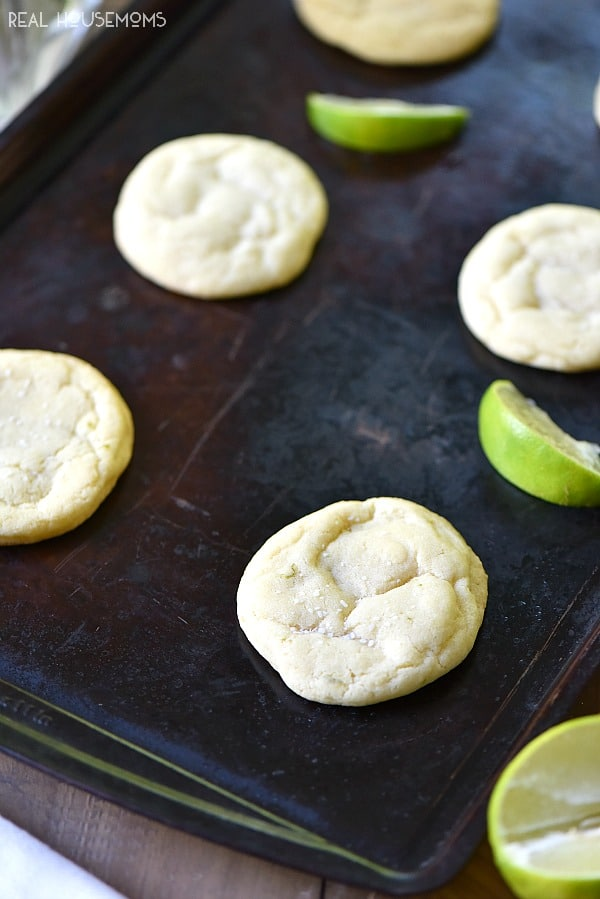 Coconut Margarita Sugar Cookies are like your favorite cocktail in a cookie!!!