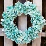 Easy Hydrangea Wreath