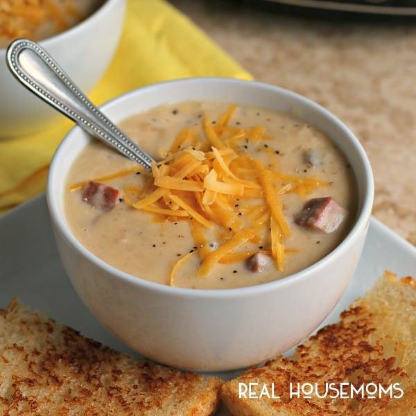 ham and potato cheese soup