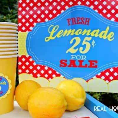 Free Lemonade Stand Prints