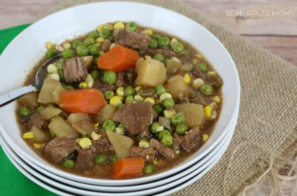 Slow Cooker Beef Stew | Real Housemoms