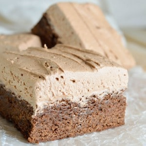 Irish Cream Chocolate Brownies