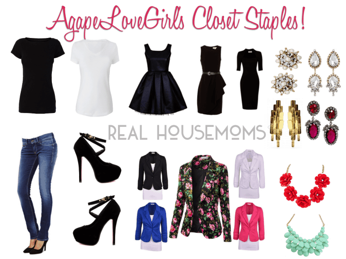 Must-Haves for Your Closet | Real Housemoms
