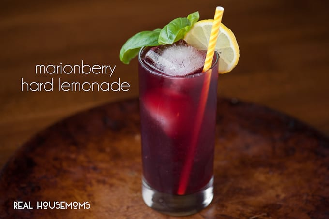 Marionberry Hard Lemonade combines fresh squeezed lemonade with decadent marionberry infused vodka for an easy to make, easy to drink, refreshing cocktail.
