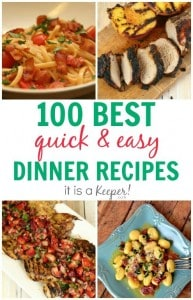 100-Dinner-Recipes-Quick-and-Easy-Meals-It-Is-a-Keeper