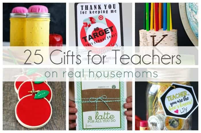 25 Gifts for Teachers   Real Housemoms
