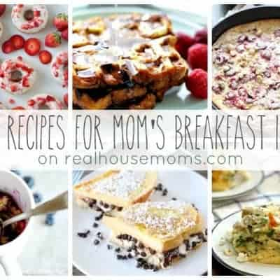 25 Recipes for Mom's Breakfast in Bed