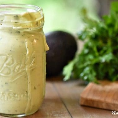 Avocado Ranch Dressing is so good my family and friends devoured it last time I made it!