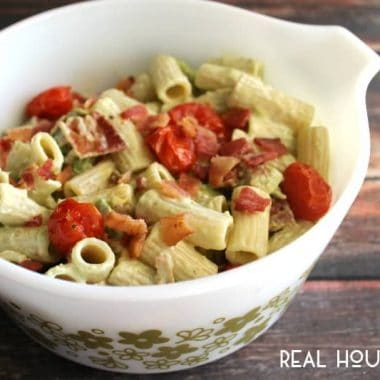 Bacon & Avocado Pasta Salad