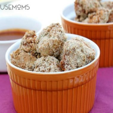Baked BBQ Chicken Nuggets   Real Housemoms