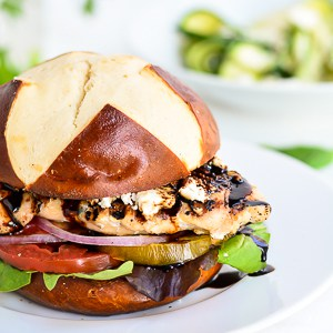 Balsamic Goat Cheese Sandwich | Garnish & Glaze