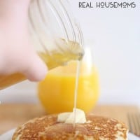 Buttermilk Syrup | Real Housemoms