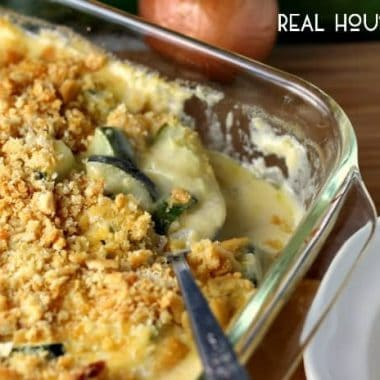 Cheesy Zucchini Gratin | Real Housemoms