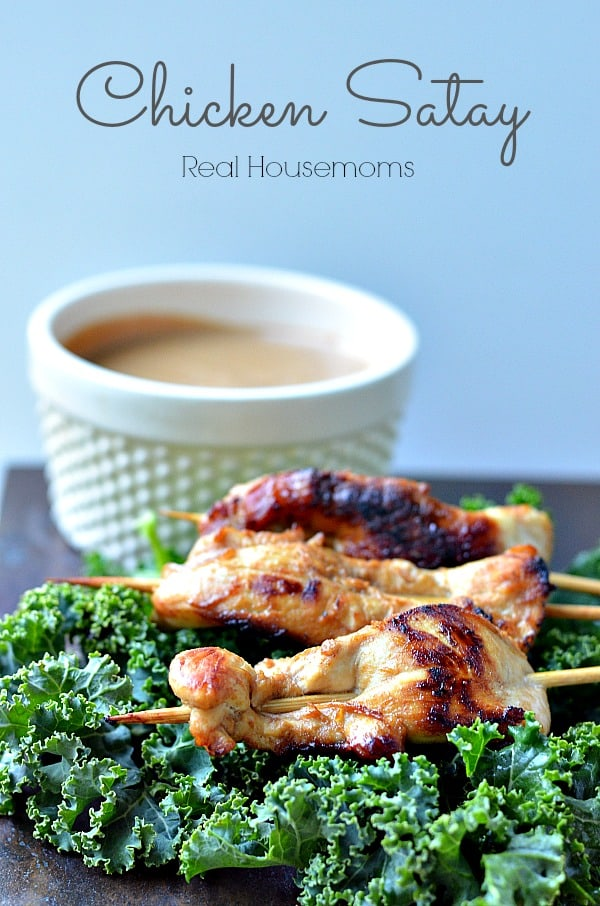 CHICKEN SATAY | Real Housemoms