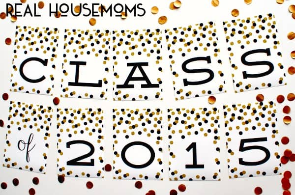 Free Class of 2015 Graduation Prints | Real Housemoms