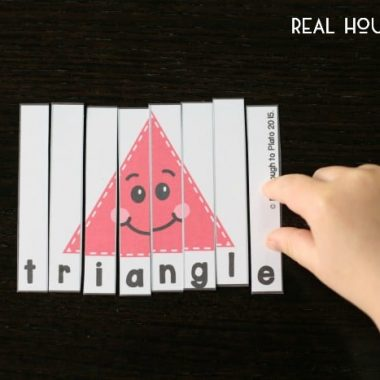 Free Shape Puzzles for Kids | Real Housemoms
