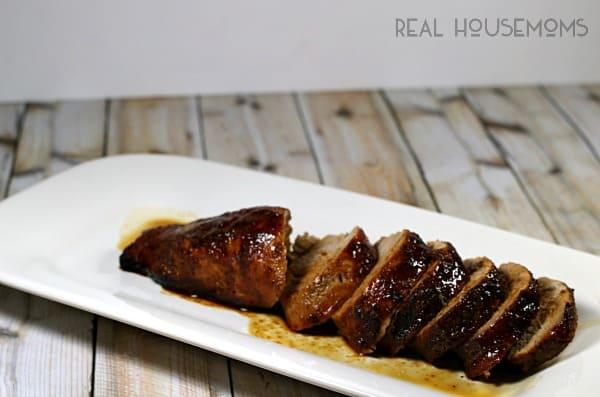 Honey Butter Pork Tenderloin | Real Housemoms