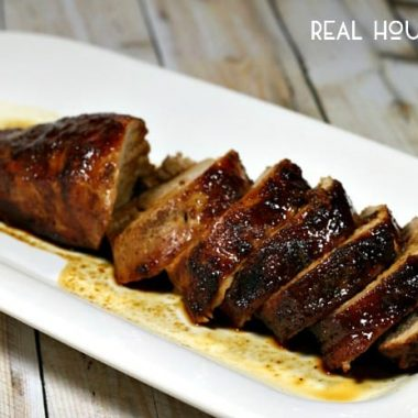 Honey Butter Pork Tenderloin | Real Housemoms