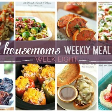 Real Housemoms Weekly Meal Plan {Week 8} We've put together a weekly meal plan and shopping list to make your week a bit easier! We've got dinner for 7 nights planned so you don't have to worry!