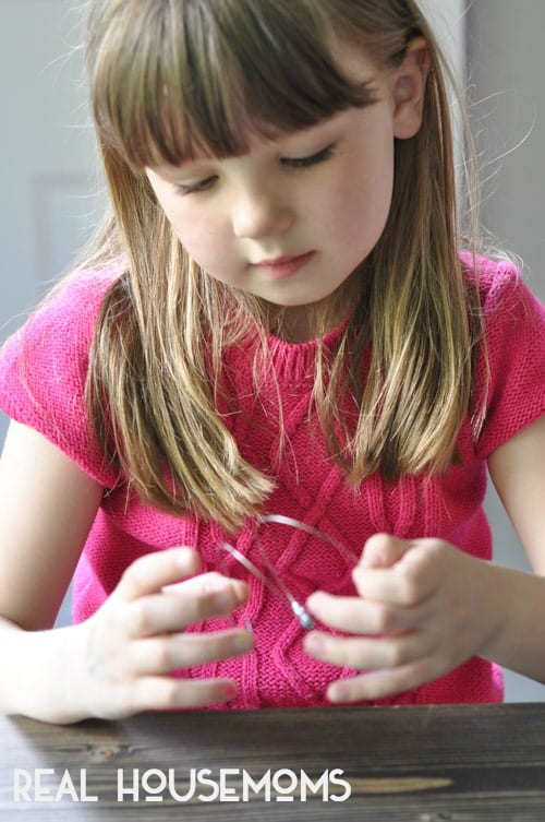 Kid-Friendly Memory Wire Bracelet | Real Housemoms
