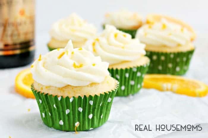 Mimosa Cupcakes ⋆ Real Housemoms