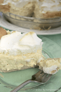 Pineapple Cream Pie- {i love} my disorganized life