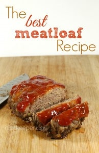 The Best Meatloaf Recipe from It's a KeeperFINAL