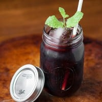 If you're looking for a fun and easy-to-make cocktail this summer for serving just one or a crowd, everyone will love this Backyard Blackberry Sangria.