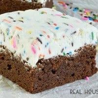 Birthday Brownies   Real Housemoms