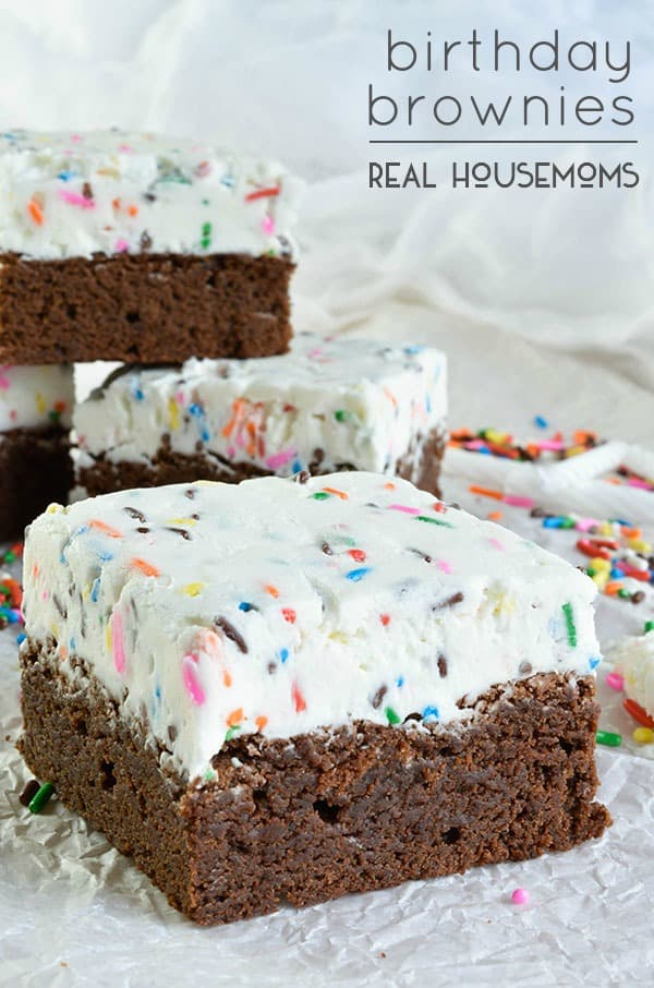 brownie birthday cake birthday brownies real housemoms 2093