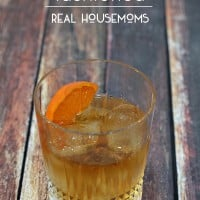 This classic old fashioned cocktail is perfect for poker night with the guys. The only thing missing is a cigar!