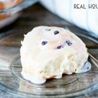 Lemon Blueberry Sweet Rolls | Real Housemoms