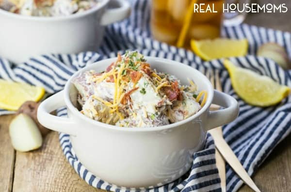 Loaded Baked Potato Salad | Real Housemoms