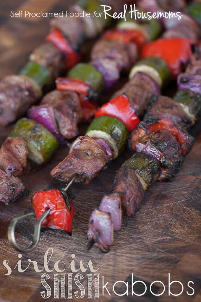 SIRLOIN SHISH KABOBS | Real Housemoms