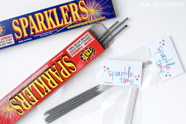 Sparkler Printables! Perfect for the Fourth of July! Get the PDF or Silhouette cut and print file!