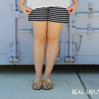 Three Ways to Wear Striped Shorts
