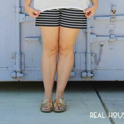 Three Ways to Wear Striped Shorts