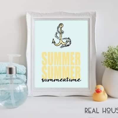 Summertime Printable