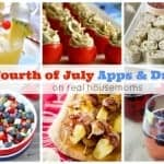 25 Fourth of July Apps & Drinks