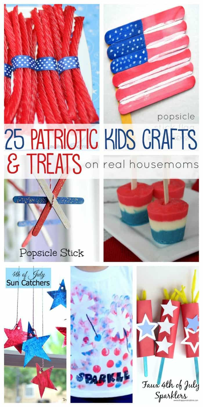 25 Patriotic Kids Crafts & Treats | Real Housemoms