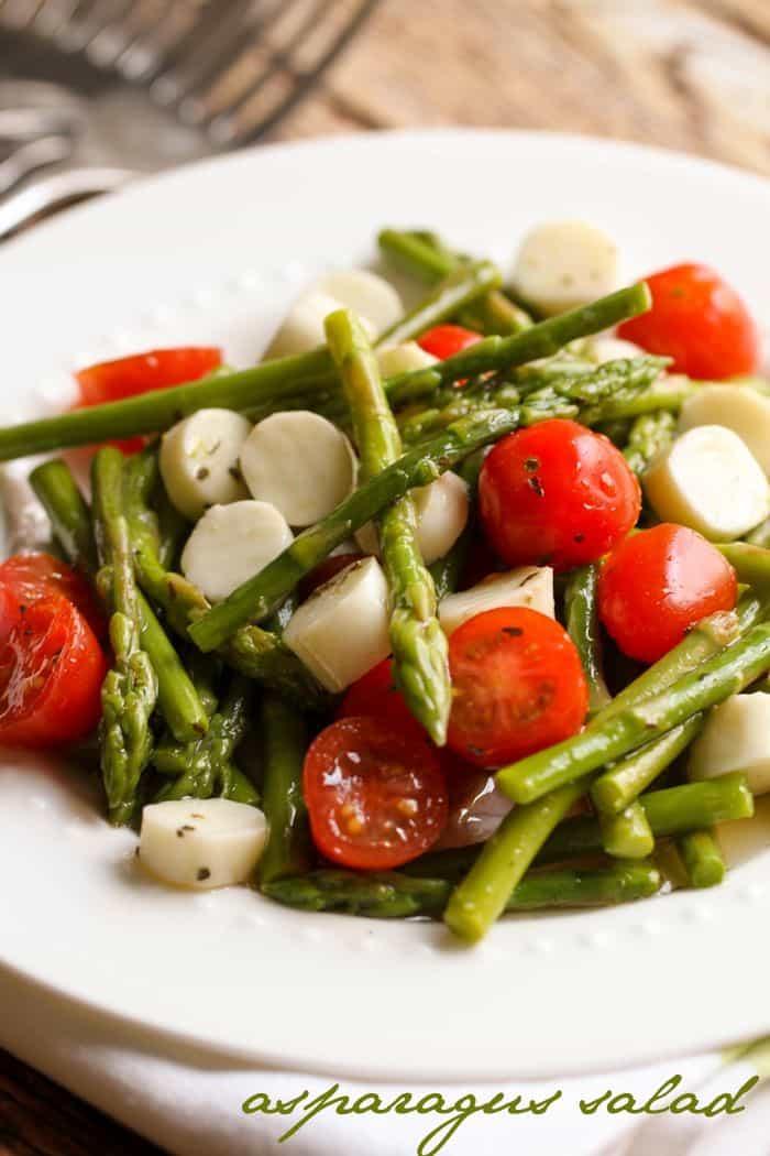 Asparagus Salad - Lil' Luna