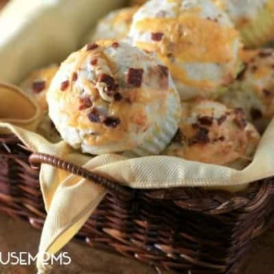 Bacon Cheese Breakfast Muffins