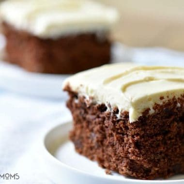 Chocolate Zucchini Cake with Cream Cheese Frosting