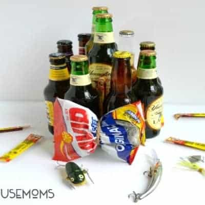 Father's Day Beer Cake Gift Idea