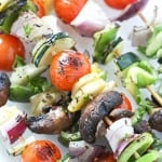 Grilled Veggie Kabobs - The perfect summer side-dish for all of your meals!