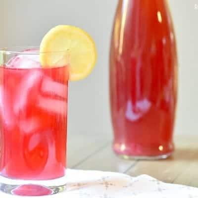 Hibiscus Tea Lemonade Cocktail