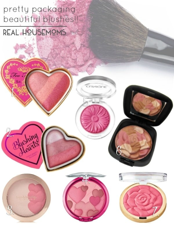 Pretty Packaging | Beautiful Blushes!! | Real Housemoms